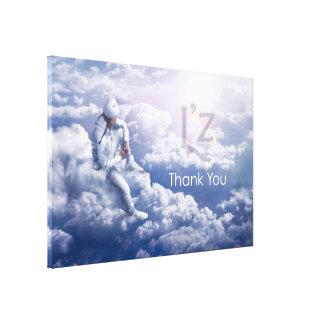 """L'z-""""Thank You"""" Premium Wrap Canvas 60""""x40"""", 1.5"""""""
