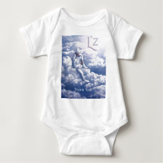"""L'z """"ThankYou"""" Merchandise Baby Bodysuit"""