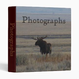 M0001 Bull Moose binder