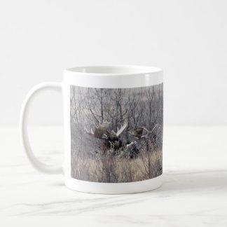 M0009 Bull Moose Laying Coffee Mug