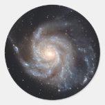 M101 la galaxia del molinillo de viento (NGC 4547) Pegatina