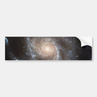 M101 Pinwheel Spiral Galaxy NASA Bumper Sticker