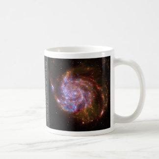 M101 Spiral Galaxy mug