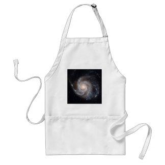 M101 The Pinwheel Galaxy (NGC 4547) Adult Apron