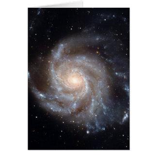 M101 The Pinwheel Galaxy (NGC 4547) Card