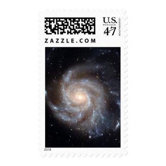 M101 The Pinwheel Galaxy (NGC 4547) Postage