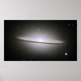 M104 Sombrero Galaxy - poster
