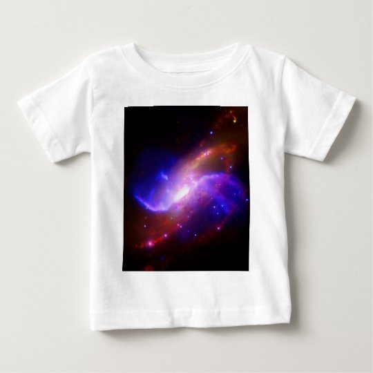 M106 Spiral Galaxy emission NASA Baby T-Shirt
