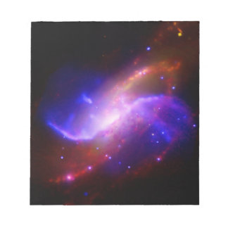 M106 Spiral Galaxy emission NASA Notepad