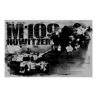 M109 howitzer Posters