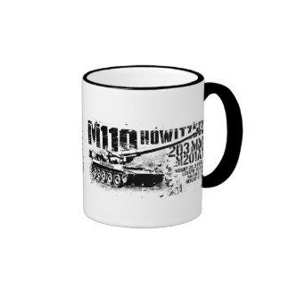 M110 howitzer 11 oz Ringer Mug