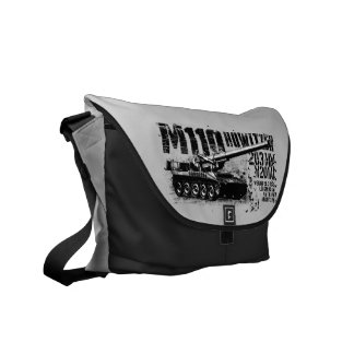 M110 howitzer Courier Bags