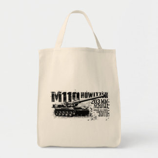 M110 howitzer Tote Bags