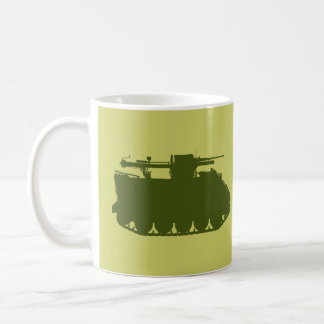 M113 106mm Recoilless Rifle Track Silhouette Mug