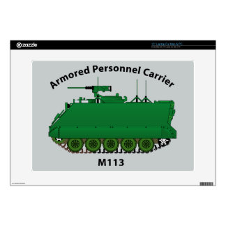 """M113-Armored Personnel Carrier APC 15"""" Laptop Skin"""