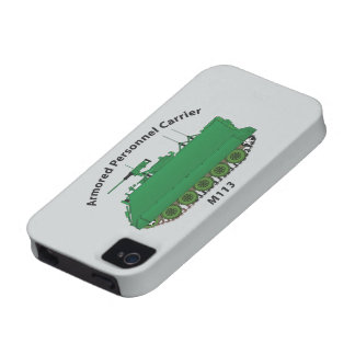 M113-Armored Personnel Carrier APC iPhone 4/4S Covers