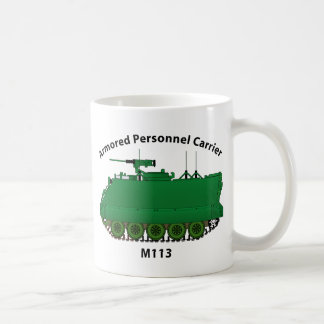 M113-Armored Personnel Carrier APC Coffee Mug