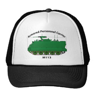 M113-Armored Personnel Carrier APC Trucker Hats