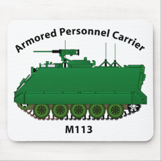 M113-Armored Personnel Carrier APC Mouse Pad