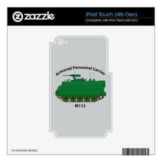 M113-Armored Personnel Carrier APC iPod Touch 4G Skins