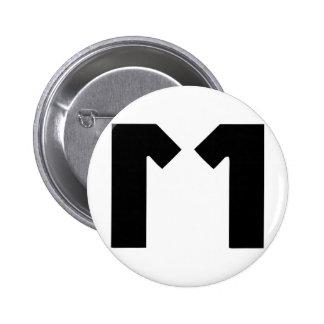 M11 2 INCH ROUND BUTTON