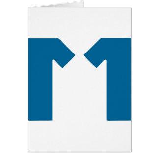 M11 GREETING CARD