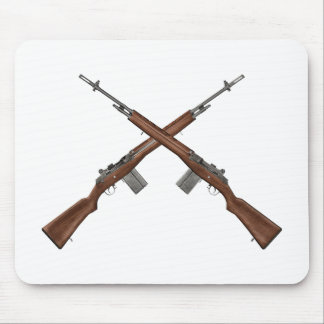 M14 Rifle Mouse Pad