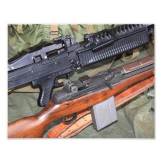 M14 y M60 de lado a lado Fotografía