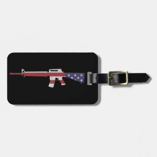 M16 America Luggage Tag
