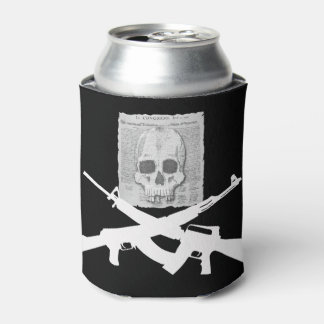 M16 and AK-47 Skull and Crossbones Can Cooler
