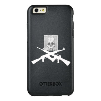 M16 and AK-47 Skull and Crossbones OtterBox iPhone 6/6s Plus Case