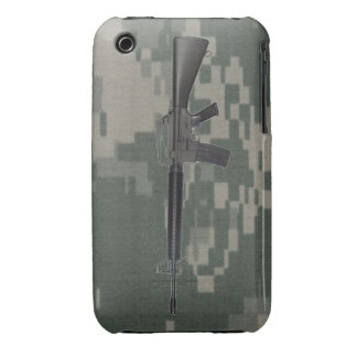 M16 Army Camo iPhone 3 Case-Mate Cases