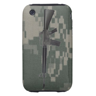 M16 Army Camo iPhone 3G/3GS Case Tough iPhone 3 Cases