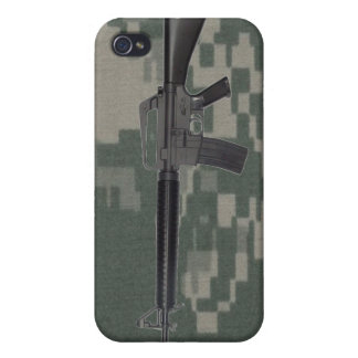 M16 Army Camo iPhone 4/4S Case