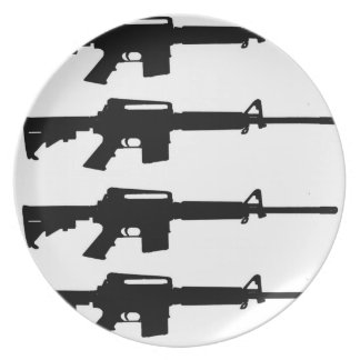 M16 dinner plate