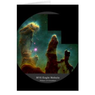M16 Eagle Nebula 'Pillars of Creation' Card