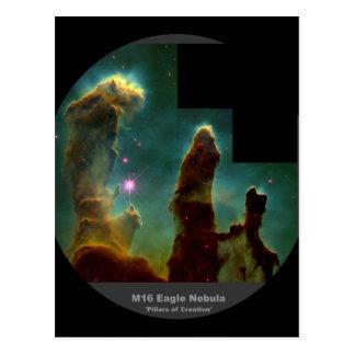 M16 Eagle Nebula 'Pillars of Creation' Postcard