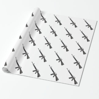 M16 Wrapping Paper