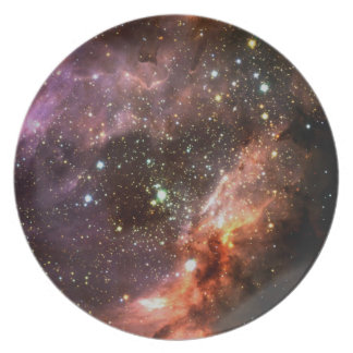 M17 Stellar Cluster Plate