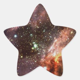 M17 Stellar Cluster Star Sticker