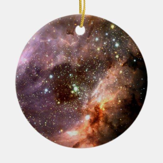 M17 Stellar Star Cluster ESO0416 Ceramic Ornament
