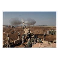 M198 Howitzer Poster