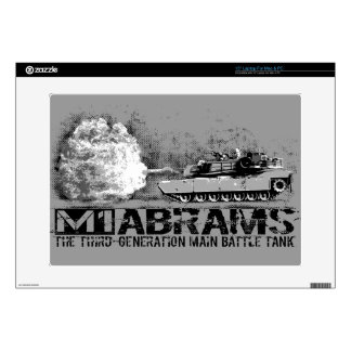 """M1 Abrams 15"""" Laptop For Mac & PC Skin Decals For Laptops"""
