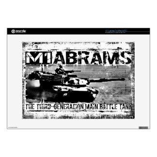 """M1 Abrams 15"""" Laptop For Mac & PC Skin Laptop Decal"""