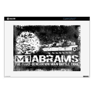 """M1 Abrams 15"""" Laptop For Mac & PC Skin Laptop Decals"""