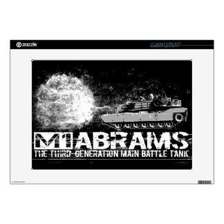 """M1 Abrams 15"""" Laptop For Mac & PC Skin Laptop Skins"""