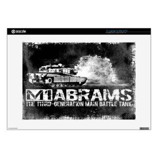 "M1 Abrams 15"" Laptop For Mac & PC Skin Skins For Laptops"