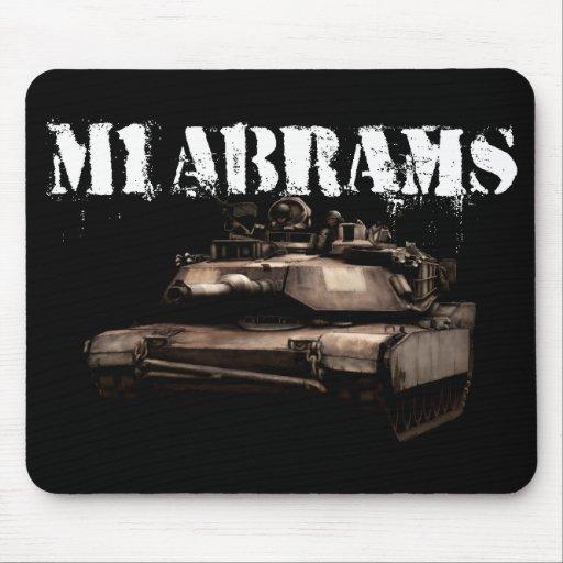 M1 Abrams Alfombrillas De Ratón