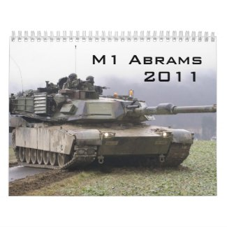 M1 Abrams Calendar calendar