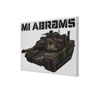 M1 Abrams Canvas Print